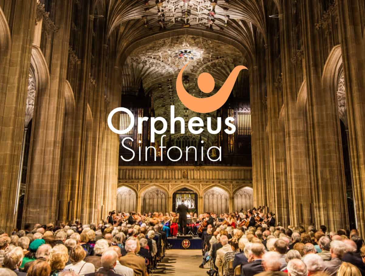 Image of Orpheus Sinfonia in concert